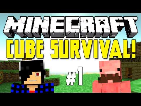 THE EXPLORATION BEGINS [Minecraft: Cube Survival! E1]