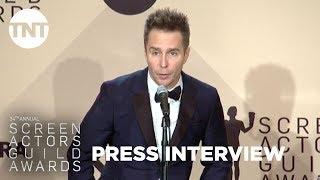 Sam Rockwell: Press Room Q&A | 24th Annual SAG Awards | TNT