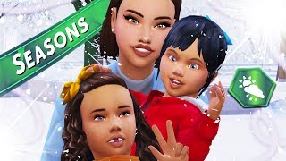 MEET THE FAMILY // The Sims 4: Seasons - Part 1  ⛄