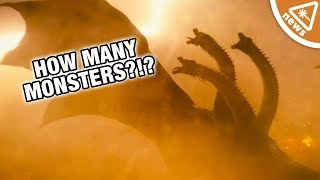 The Latest Godzilla Trailer Is Hiding More Monsters Than You Think! (Nerdist News w/ Jessica Chobot)