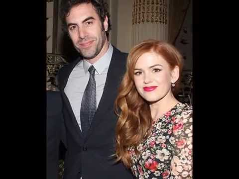 Isla Fisher & Sacha Baron Cohen Kissing Compilation