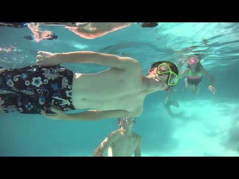 Kids Swimming Underwater - GoPro Filming