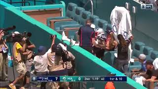 Antonio Brown Touchdown | Patriots vs Dolphins