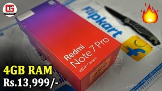 Redmi Note 7 Pro Unboxing, Pubg Test, Heating Test, Camera Samples | Redmi Note 7 Pro Flipkart Black