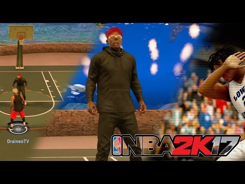 2K17 MY PARK - TEARING HIS UGLY AXX UP !! (2K17 Funny Moments)