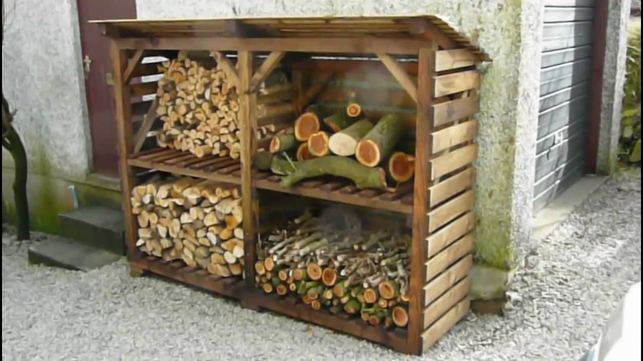 Log Storage Shed Plans