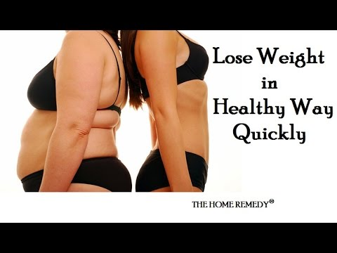 "Reduce Weight Fast in a ""Week"" - Ancient and Best Home Remedy"