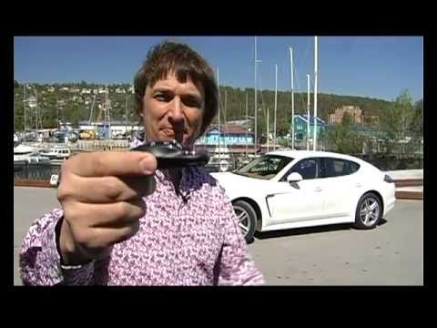 Тест Porsche Panamera  www.skorost-tv.ru