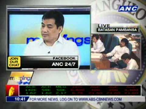 PART 2- Chat with Sec. Edwin Lacierda for #sona2011