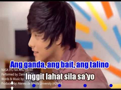 Nasa iyo na ang lahat (karaoke, Instrumental) - Daniel Padilla