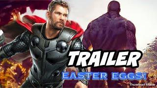 All Avengers 4 Endgame Trailer Easter Eggs You Missed | M&T Reviews