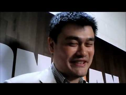 Yao Ming returns to Houston