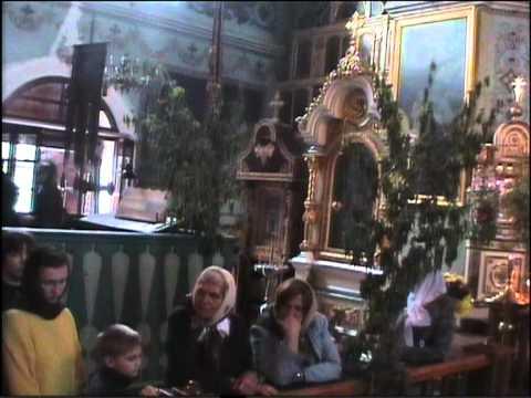 Похороны Схиигумении Олимпиады часть 1.VOB