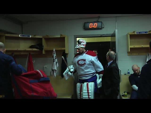 Canadiens prank Price during first round celebration