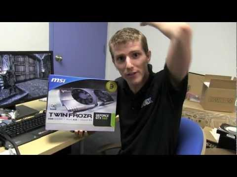 GTX 660 Video Review MSI GeForce Twin Frozr 1080p Performance Linus Tech Tips