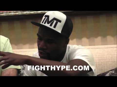 FLOYD MAYWEATHER DISCUSSES HIS COMPANY SAYS TMT GEAR WILL SOON BE AVAILABLE IN 500 STORES