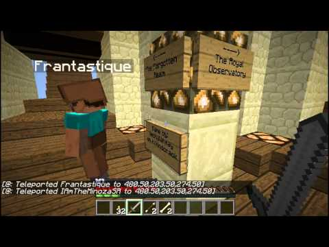 Minecraft - Ruins of the Mindcrackers E01 - Overwhelmed w/ Frantastique