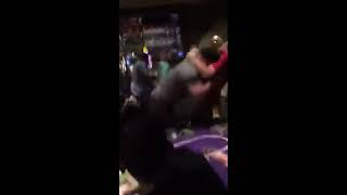 Fight at Harrah's New Orleans Poker Room on May 9, 2015