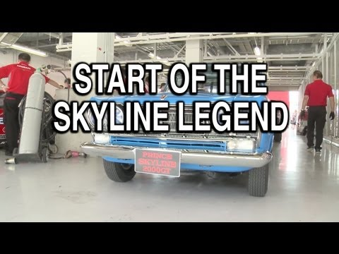 Start of the Skyline Legend
