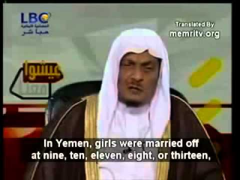 Muhammad Had Sex With 9 Year Old Aisha Says Top Saudi Islamic Scholar In 2008 video