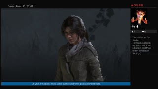 Aqland's Live Rise of the Tomb raider ps4 part 5