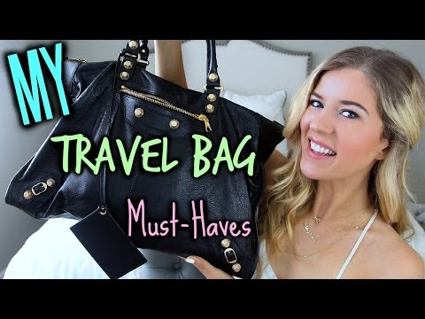 Travel Bag Must-Haves: What's In My Bag