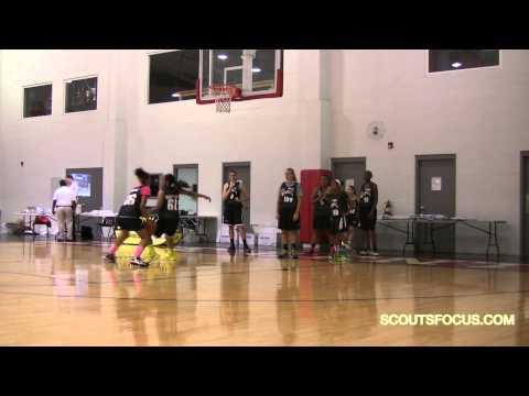 "Team2 106 Grace Simmons Life Center Academy NJ 5'10"" 140 2016 Girls"