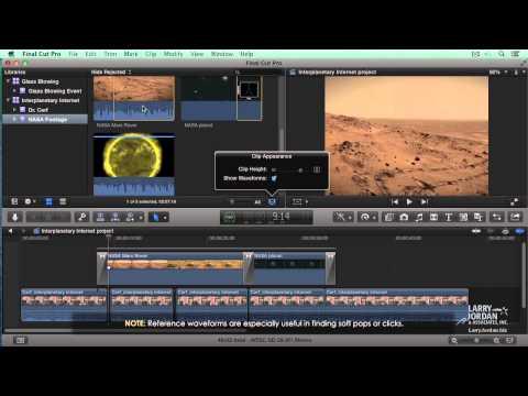 Editing Audio in Final Cut Pro X (10.1)