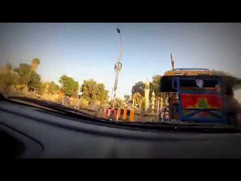 Karachi Go pro Gulshan To Nipa on car