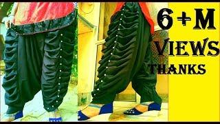 Self designed latest palwaliya salwar, most ever popular design on youtube