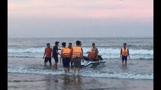 Tai nạn đuối nước tại biển Hải Hòa: 3 người được cứu, 1 người tử vong