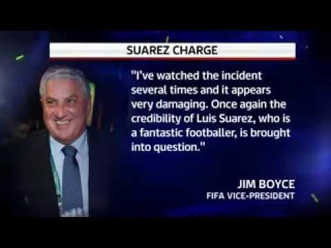 FIFA investigate Luis Suarez Bite against Uraguay