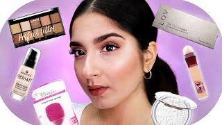KOMPLETTER DROGERIE MAKE UP LOOK | Sanny Kaur