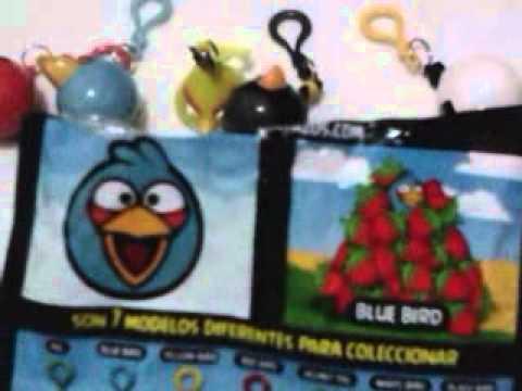 Llaveros Angry Birds
