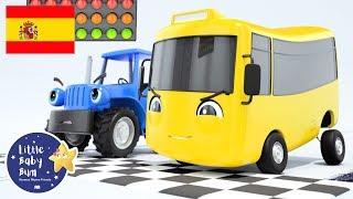 NUEVA CANCIÓN | con Buster el Autobús | Buster Corre una Carrera | Little Baby Bum en Español