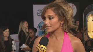 AMAs 2018: Jennifer Lopez on Her Sexy Hot Pink Gown and Empowering Performance (Exclusive)