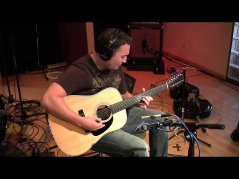 Tracks: Solo 12string Guitar Instrumental  in the Studio on a Martin D1228