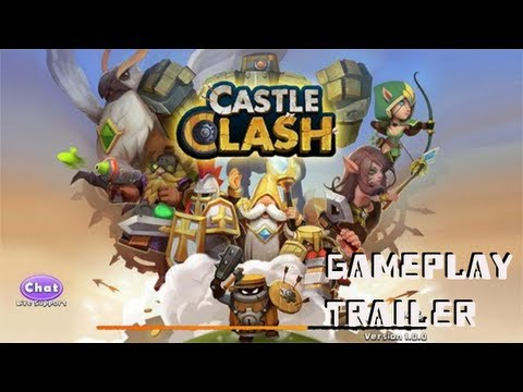 Castle Clash Gameplay Trailer Android Free-to-Play 720p