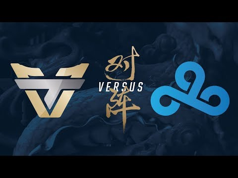 ONE vs. C9   Play-In Day 2   2017 World Championship   Team oNe Esports vs. Cloud9