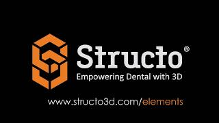 Structo Elements [Beta] - Scalable, Modular Dental 3D Printing System