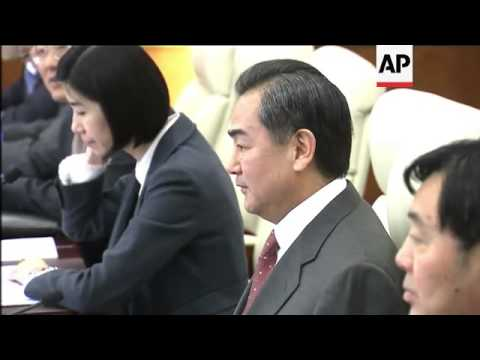 US Sec of State Kerry meets Chinese counterpart Wang Yi