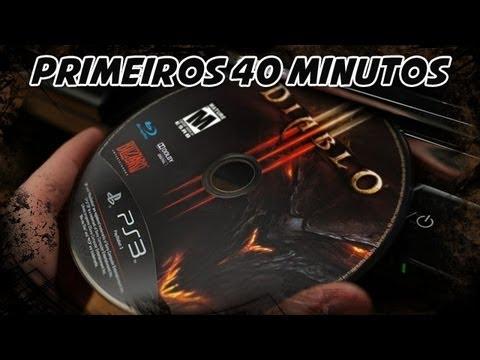 Diablo 3 para PS3 – Primeiros 40 Minutos