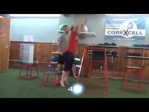 Corexcell Girl Box jump Record 43