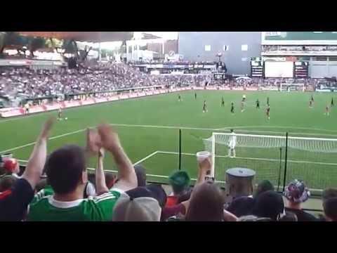 2014 MLS All-Stars v. FC Bayern Munich - Thierry Henry's Attempt