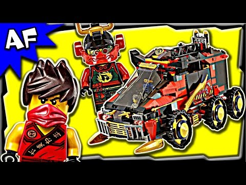 Lego Ninjago NINJA DB X 70750 Stop Motion Build Review