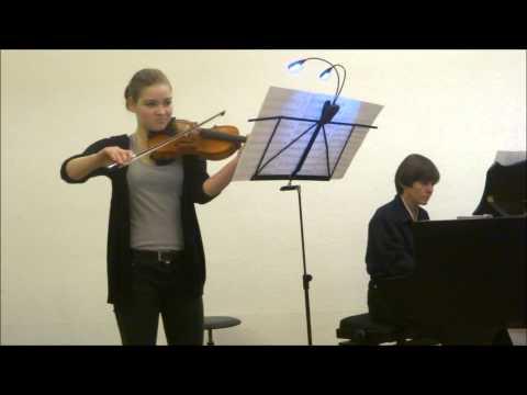 Nina Maria Napp - A.Komarowski - Konzert Nr. 2 - Violine und Klavier