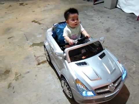 Toddler Mercedes Benz Electric Car