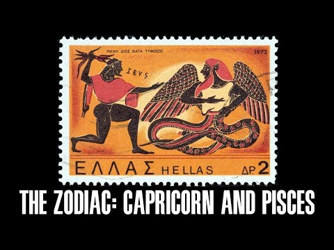 The Zodiac — Capricorn and Pisces