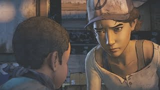 "Clementine Hums ""Alive Inside"" Easter Egg - The Walking Dead Season 3 Game"