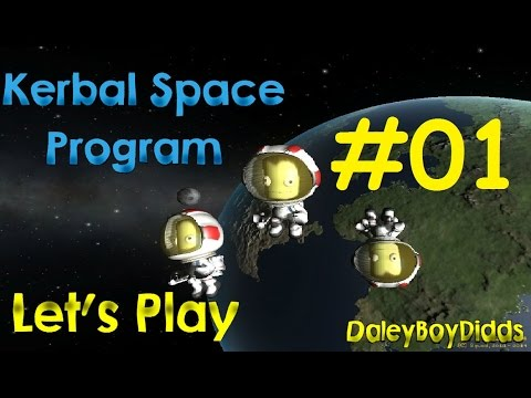 Kerbal Space Program Let's Play - #01, DBD Space Centre